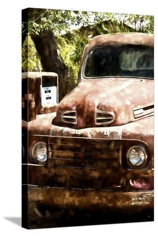 Truck Ford-Philippe Hugonnard-Stretched Canvas Print