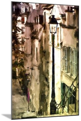 Alley in Montmartre-Philippe Hugonnard-Mounted Giclee Print