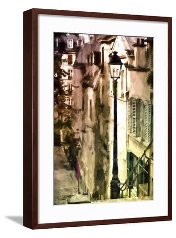 Alley in Montmartre-Philippe Hugonnard-Framed Art Print