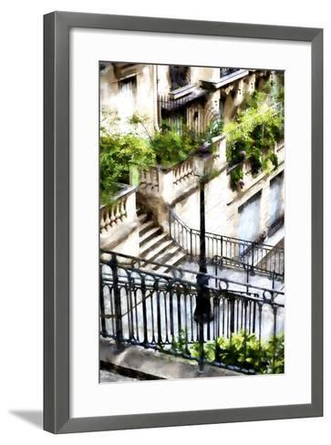 Montmartre Lantern-Philippe Hugonnard-Framed Art Print