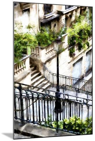 Montmartre Lantern-Philippe Hugonnard-Mounted Giclee Print