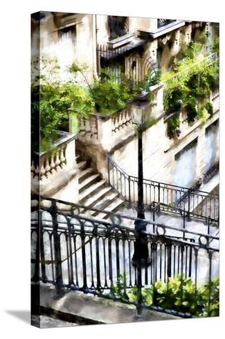 Montmartre Lantern-Philippe Hugonnard-Stretched Canvas Print