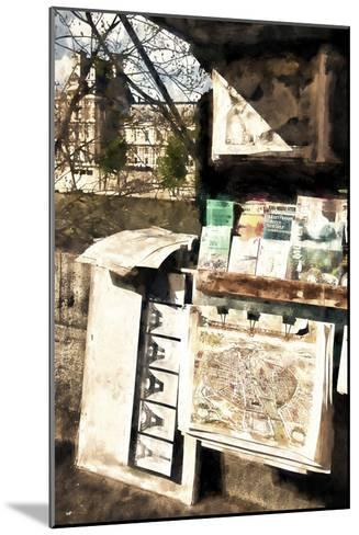 Paris Booksellers-Philippe Hugonnard-Mounted Giclee Print