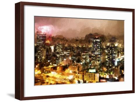 City Night-Philippe Hugonnard-Framed Art Print