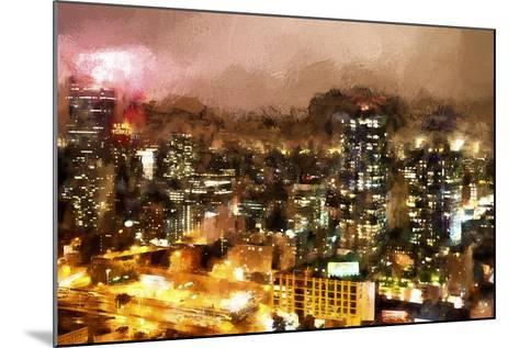 City Night-Philippe Hugonnard-Mounted Giclee Print