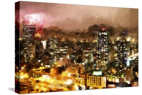 City Night-Philippe Hugonnard-Stretched Canvas Print