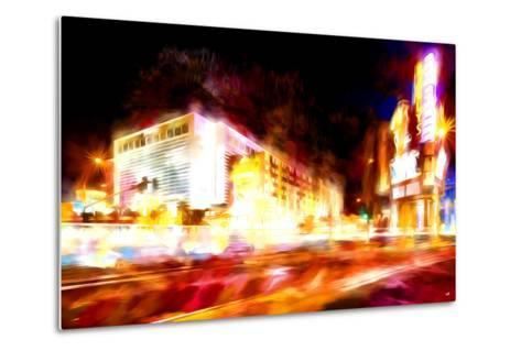 Full Speed - In the Style of Oil Painting-Philippe Hugonnard-Metal Print