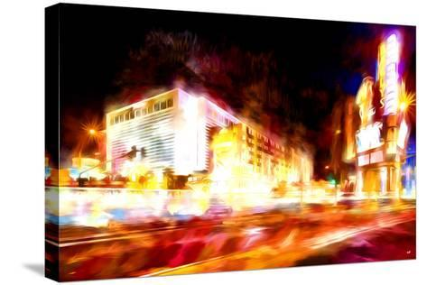 Full Speed - In the Style of Oil Painting-Philippe Hugonnard-Stretched Canvas Print