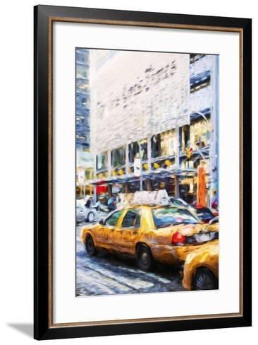 Urban City II - In the Style of Oil Painting-Philippe Hugonnard-Framed Art Print