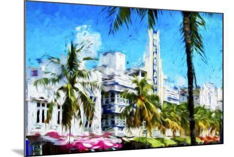 Art Deco District - In the Style of Oil Painting-Philippe Hugonnard-Mounted Giclee Print