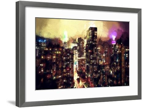Good Night Manhattan-Philippe Hugonnard-Framed Art Print