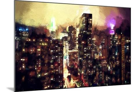 Good Night Manhattan-Philippe Hugonnard-Mounted Giclee Print