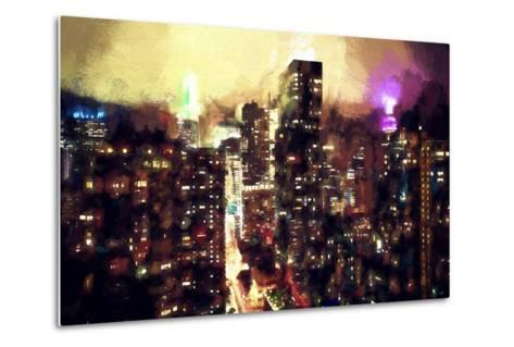 Good Night Manhattan-Philippe Hugonnard-Metal Print