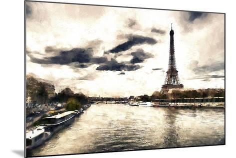 Lanscape Paris Eiffel-Philippe Hugonnard-Mounted Giclee Print