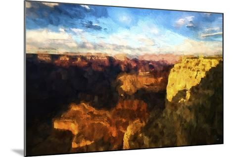 Canyon Sunset-Philippe Hugonnard-Mounted Giclee Print