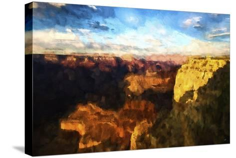 Canyon Sunset-Philippe Hugonnard-Stretched Canvas Print