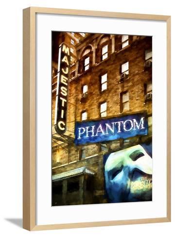 Majestic Broadway II-Philippe Hugonnard-Framed Art Print