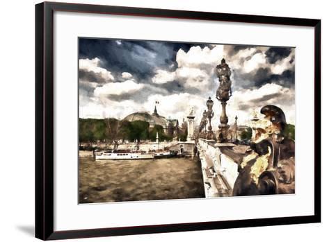 Moment in Paris-Philippe Hugonnard-Framed Art Print