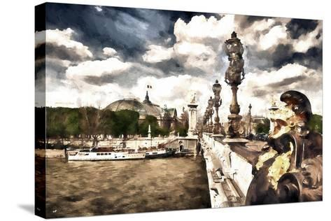 Moment in Paris-Philippe Hugonnard-Stretched Canvas Print