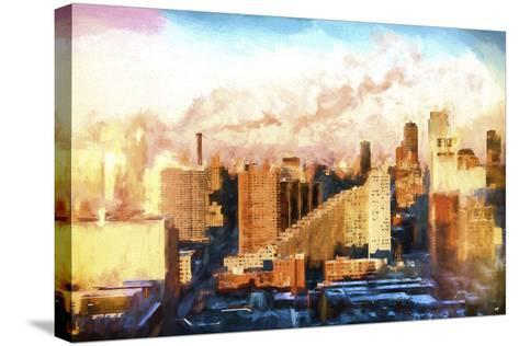 New York Sunset Colors-Philippe Hugonnard-Stretched Canvas Print