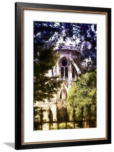 Dark of Notre Dame Cathedral-Philippe Hugonnard-Framed Art Print