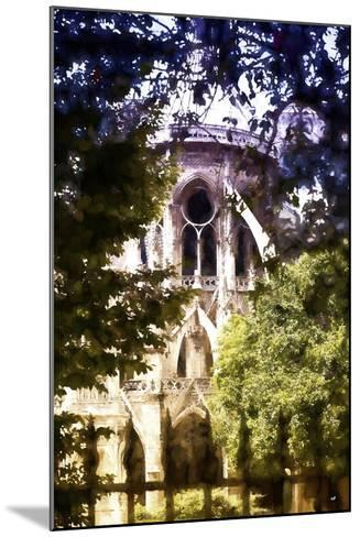 Dark of Notre Dame Cathedral-Philippe Hugonnard-Mounted Giclee Print