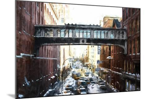 Windows on Bridge-Philippe Hugonnard-Mounted Giclee Print