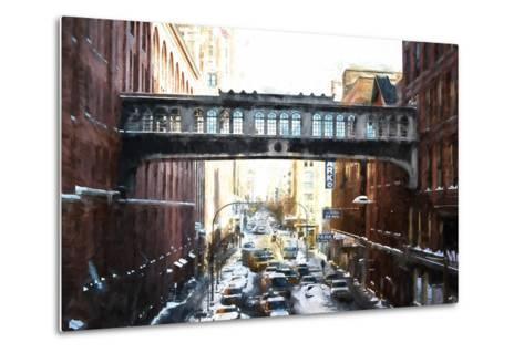 Windows on Bridge-Philippe Hugonnard-Metal Print