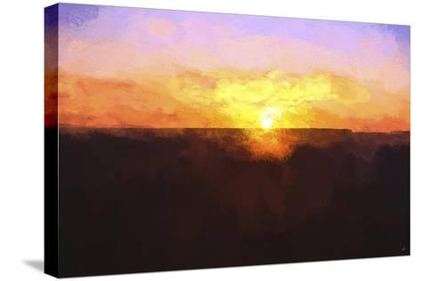 Sunset-Philippe Hugonnard-Stretched Canvas Print