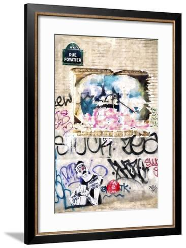 Street Art Paris-Philippe Hugonnard-Framed Art Print