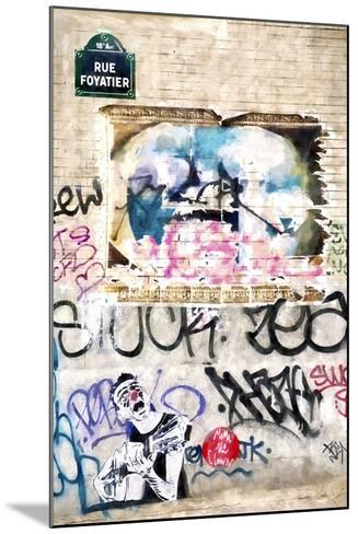 Street Art Paris-Philippe Hugonnard-Mounted Giclee Print