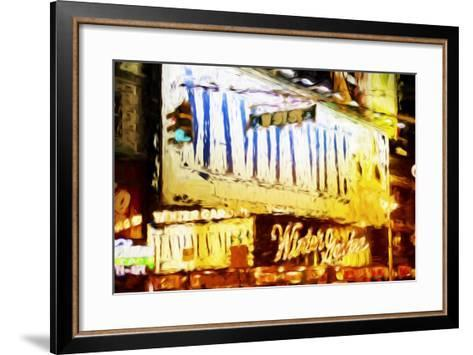 Winter Garden - In the Style of Oil Painting-Philippe Hugonnard-Framed Art Print