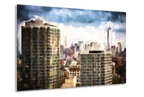 New York Downtown-Philippe Hugonnard-Metal Print