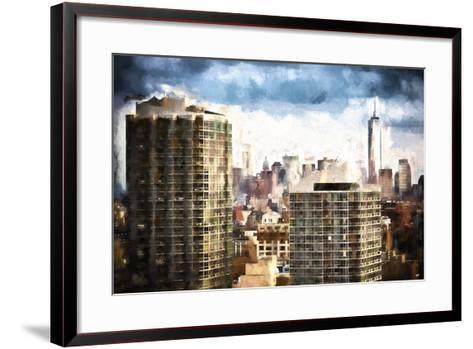 New York Downtown-Philippe Hugonnard-Framed Art Print