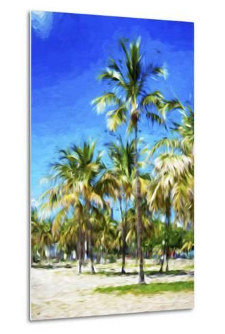 Miami Beach III - In the Style of Oil Painting-Philippe Hugonnard-Metal Print