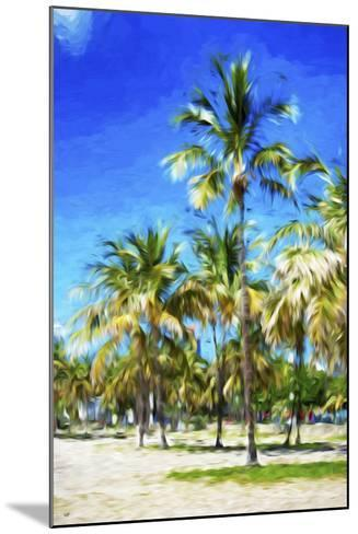 Miami Beach III - In the Style of Oil Painting-Philippe Hugonnard-Mounted Giclee Print