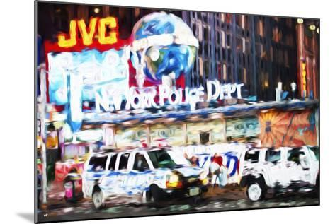 New York Police - In the Style of Oil Painting-Philippe Hugonnard-Mounted Giclee Print