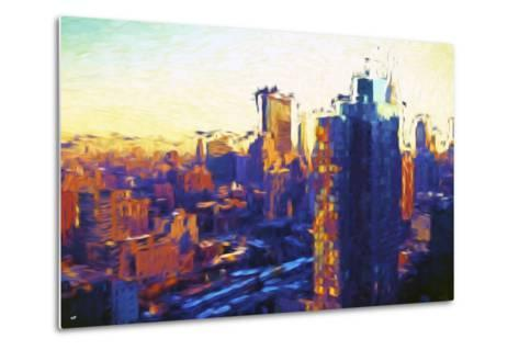 Colors Sunday - In the Style of Oil Painting-Philippe Hugonnard-Metal Print