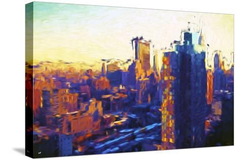 Colors Sunday - In the Style of Oil Painting-Philippe Hugonnard-Stretched Canvas Print
