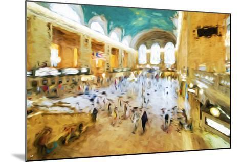 Grand Central Terminal II - In the Style of Oil Painting-Philippe Hugonnard-Mounted Giclee Print
