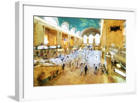 Grand Central Terminal II - In the Style of Oil Painting-Philippe Hugonnard-Framed Art Print