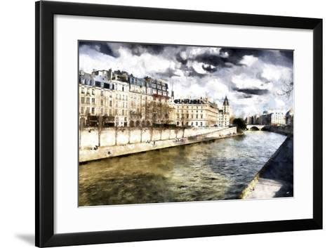 Paris Romantic City-Philippe Hugonnard-Framed Art Print
