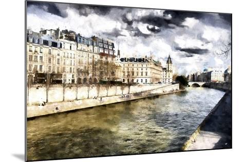 Paris Romantic City-Philippe Hugonnard-Mounted Giclee Print