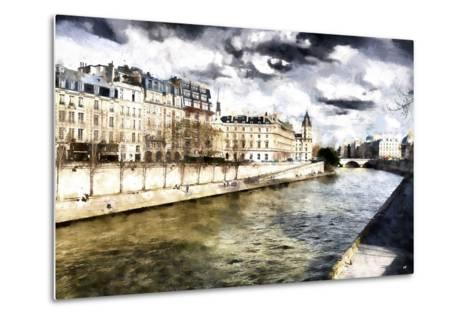 Paris Romantic City-Philippe Hugonnard-Metal Print