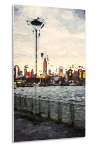 Sunset Light - In the Style of Oil Painting-Philippe Hugonnard-Metal Print