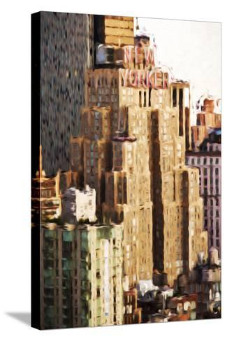 The New Yorker - In the Style of Oil Painting-Philippe Hugonnard-Stretched Canvas Print
