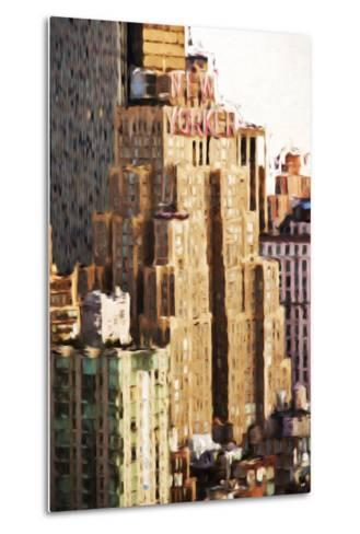 The New Yorker - In the Style of Oil Painting-Philippe Hugonnard-Metal Print