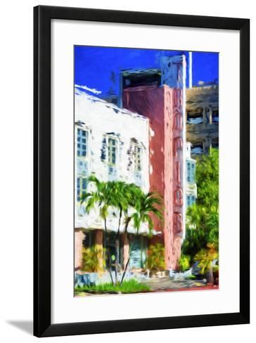 Tropics - In the Style of Oil Painting-Philippe Hugonnard-Framed Art Print