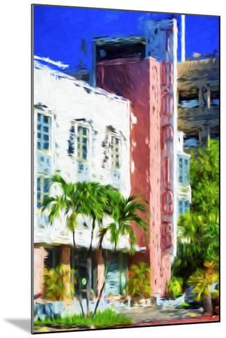 Tropics - In the Style of Oil Painting-Philippe Hugonnard-Mounted Giclee Print
