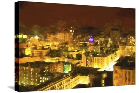San Francisco Night-Philippe Hugonnard-Stretched Canvas Print